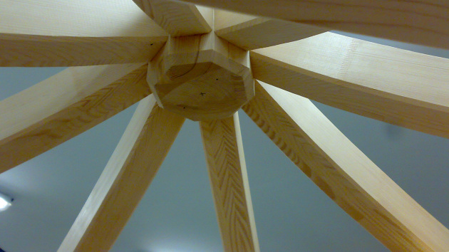 Střecha altánu