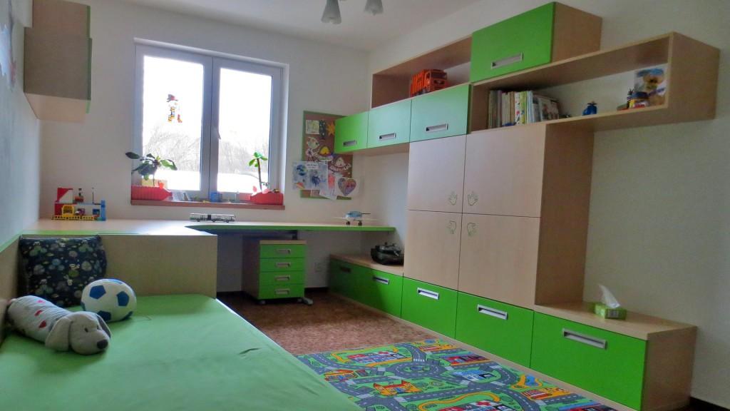 Dětský pokoj zelený