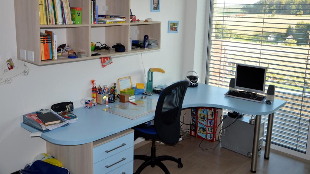 Dětský pokoj-stůl